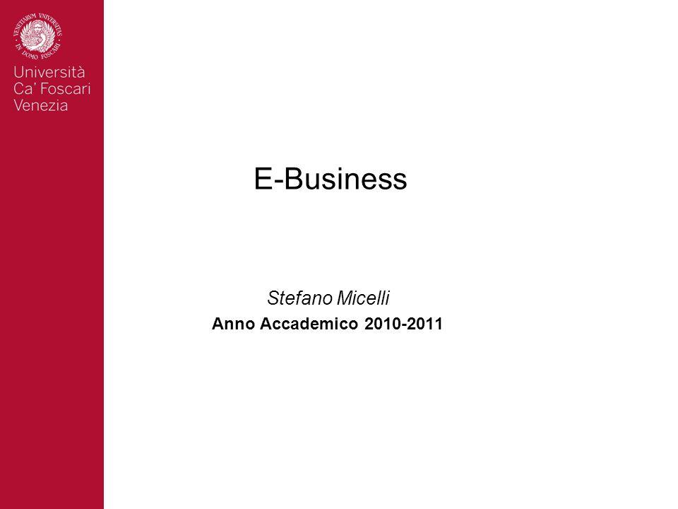 Stefano Micelli Anno Accademico 2010-2011