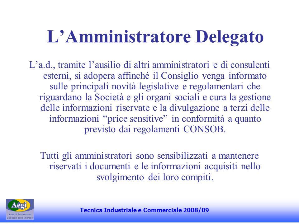 L'Amministratore Delegato
