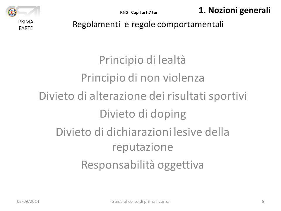 Principio di non violenza