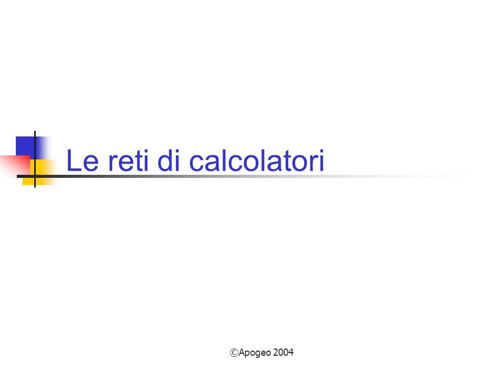 Le reti di calcolatori ©Apogeo 2004