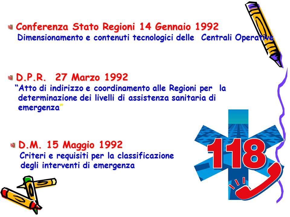 Atto di indirizzo e coordinamento alle Regioni per la