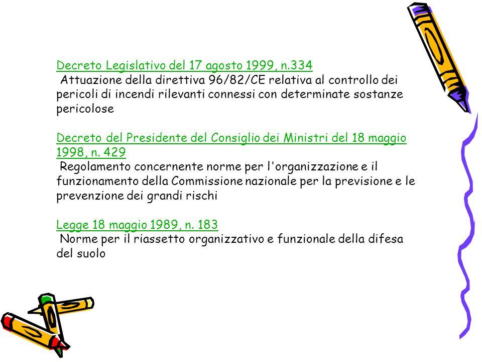 Decreto Legislativo del 17 agosto 1999, n