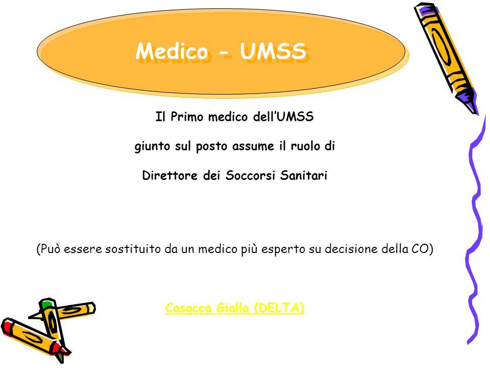 Medico - UMSS Il Primo medico dell'UMSS