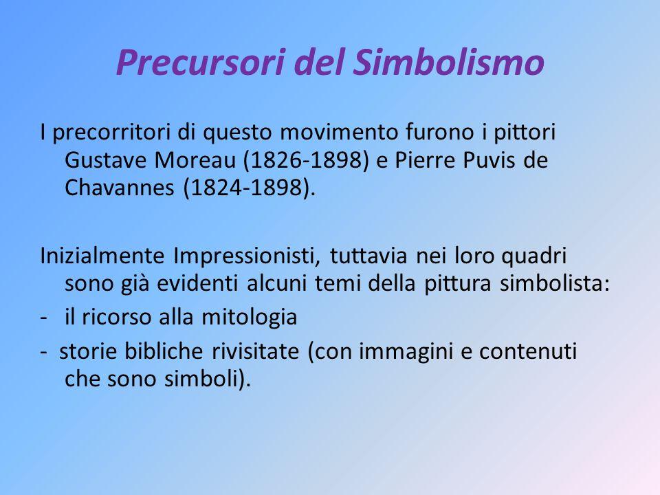 Precursori del Simbolismo