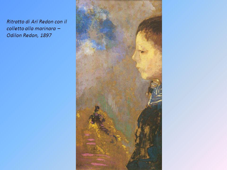 Ritratto di Arï Redon con il colletto alla marinara – Odilon Redon, 1897