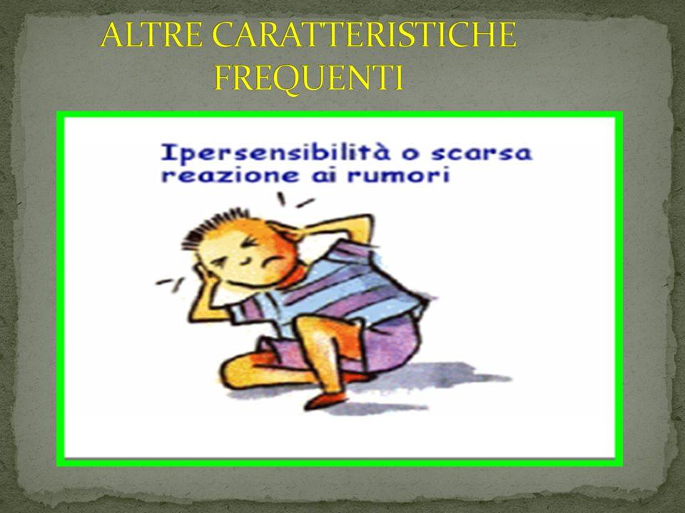 ALTRE CARATTERISTICHE FREQUENTI