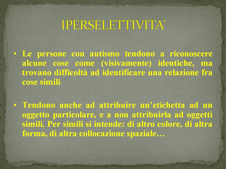 IPERSELETTIVITA' 09/03/12