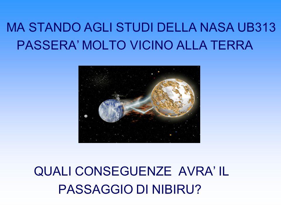 MA STANDO AGLI STUDI DELLA NASA UB313