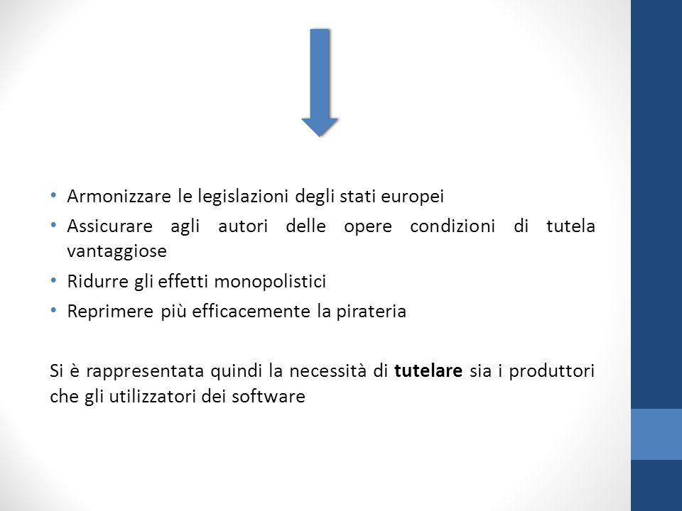 Armonizzare le legislazioni degli stati europei