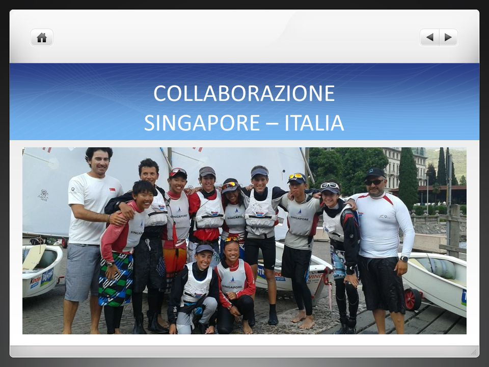 COLLABORAZIONE SINGAPORE – ITALIA