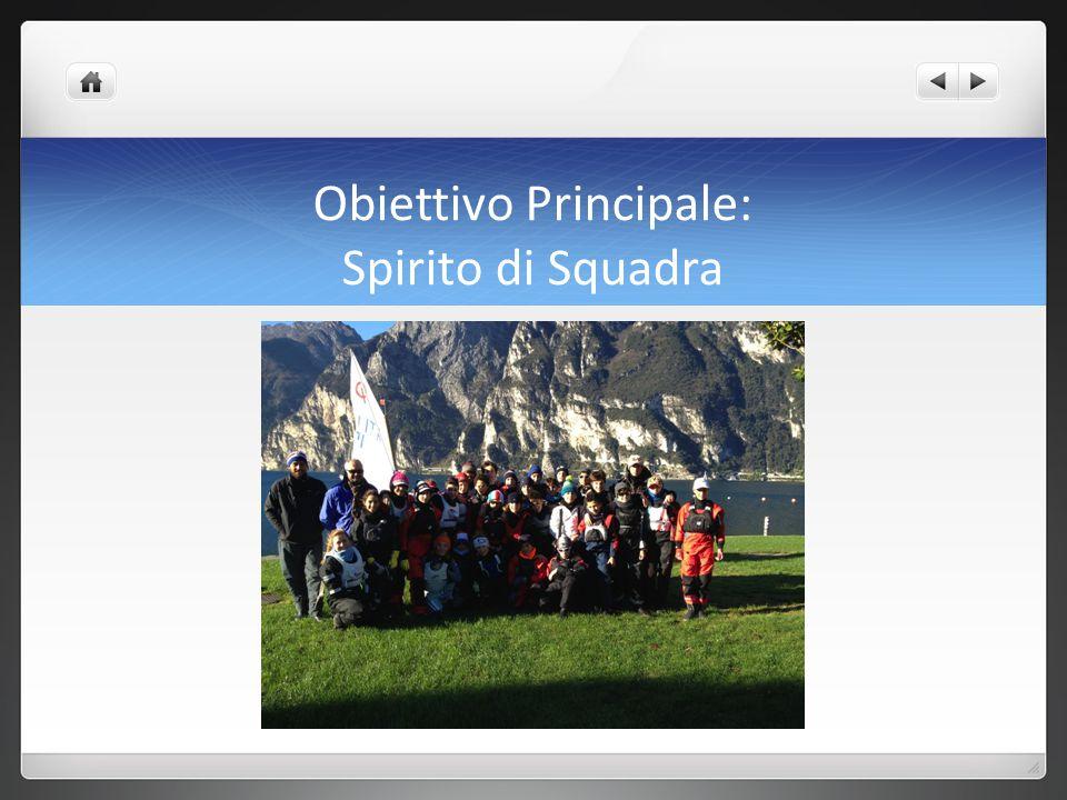 Obiettivo Principale: Spirito di Squadra