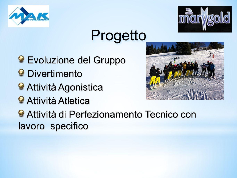 Progetto Evoluzione del Gruppo Divertimento Attività Agonistica