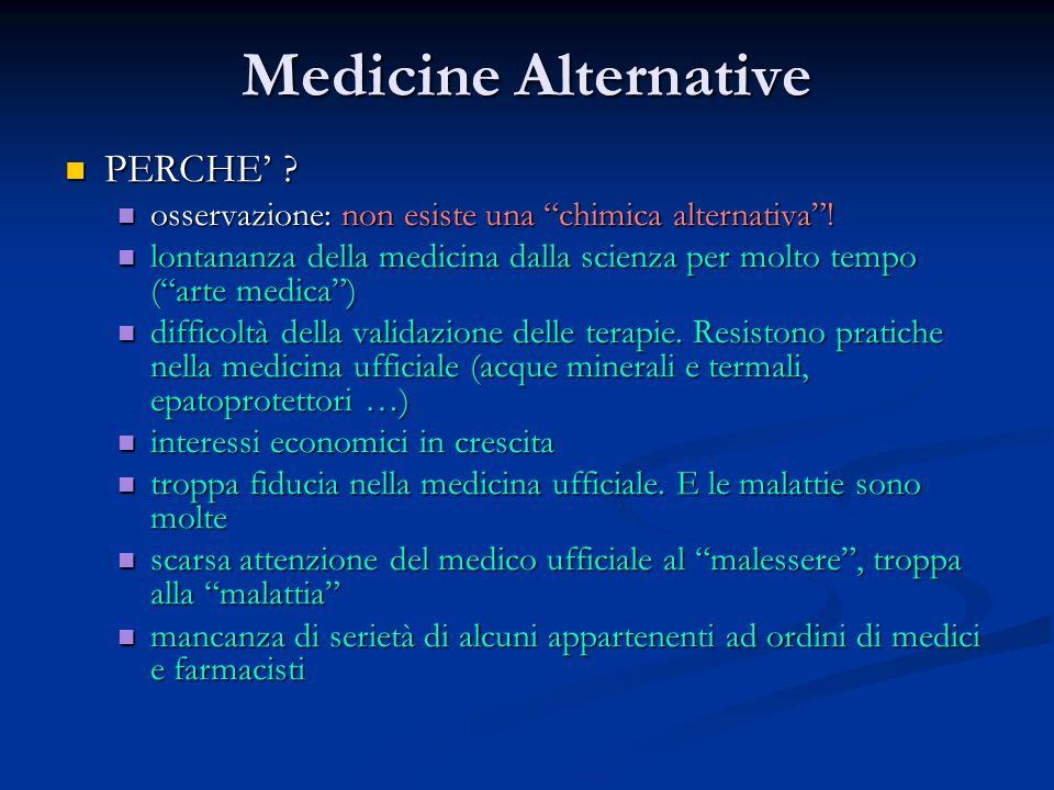 Medicine Alternative PERCHE'