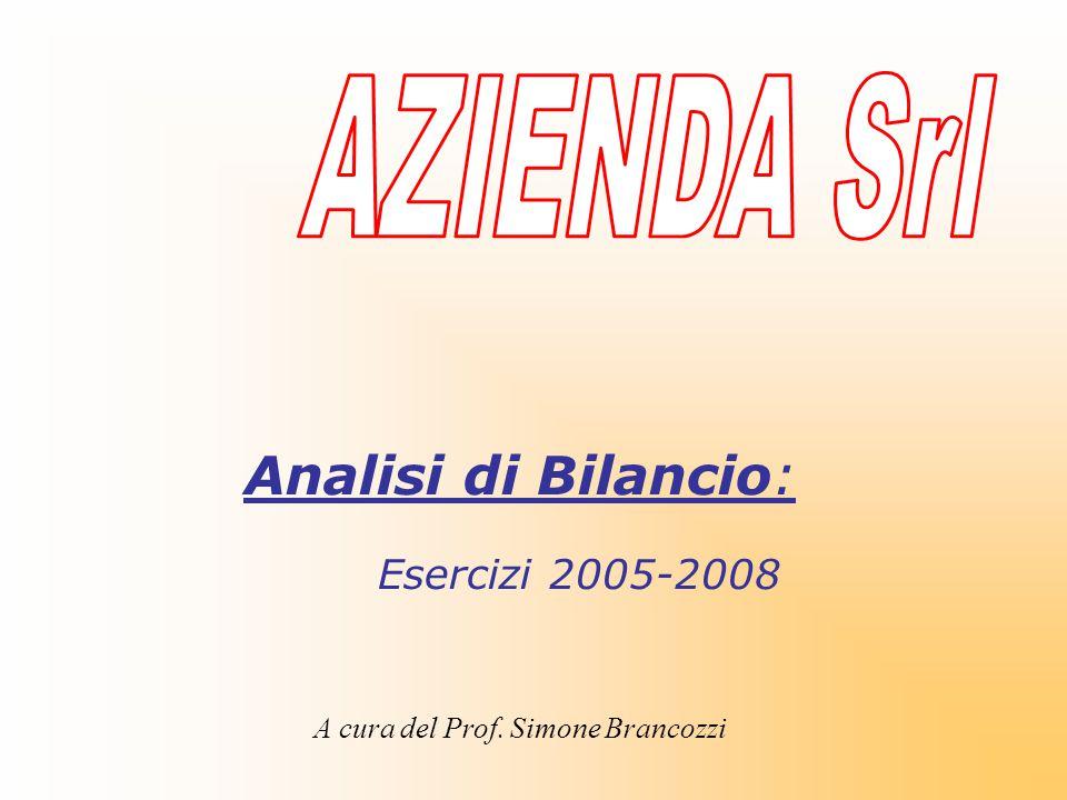A cura del Prof. Simone Brancozzi