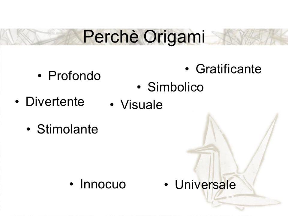 Perchè Origami Gratificante Profondo Simbolico Divertente Visuale
