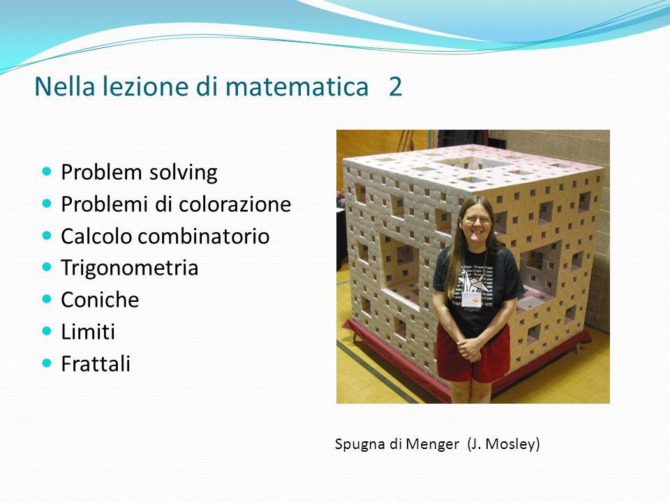 Nella lezione di matematica 2