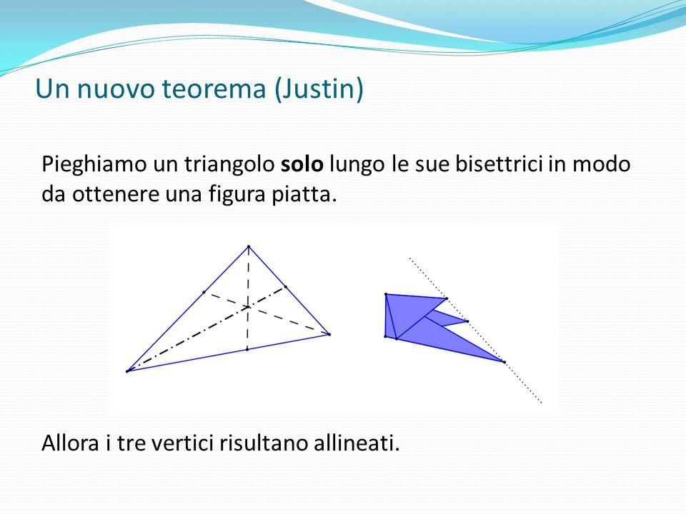 Un nuovo teorema (Justin)