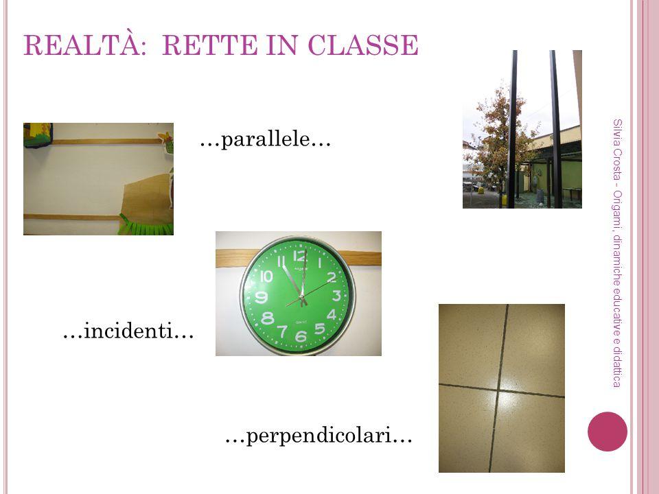 REALTÀ: RETTE IN CLASSE