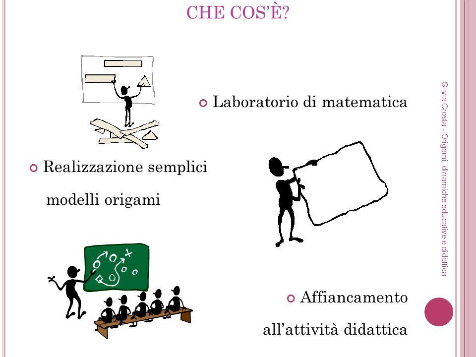 CHE COS'È Laboratorio di matematica Realizzazione semplici