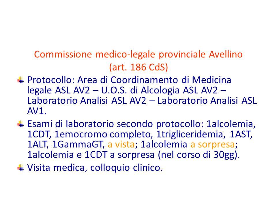 Commissione medico-legale provinciale Avellino