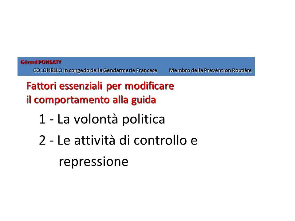 2 - Le attività di controllo e repressione