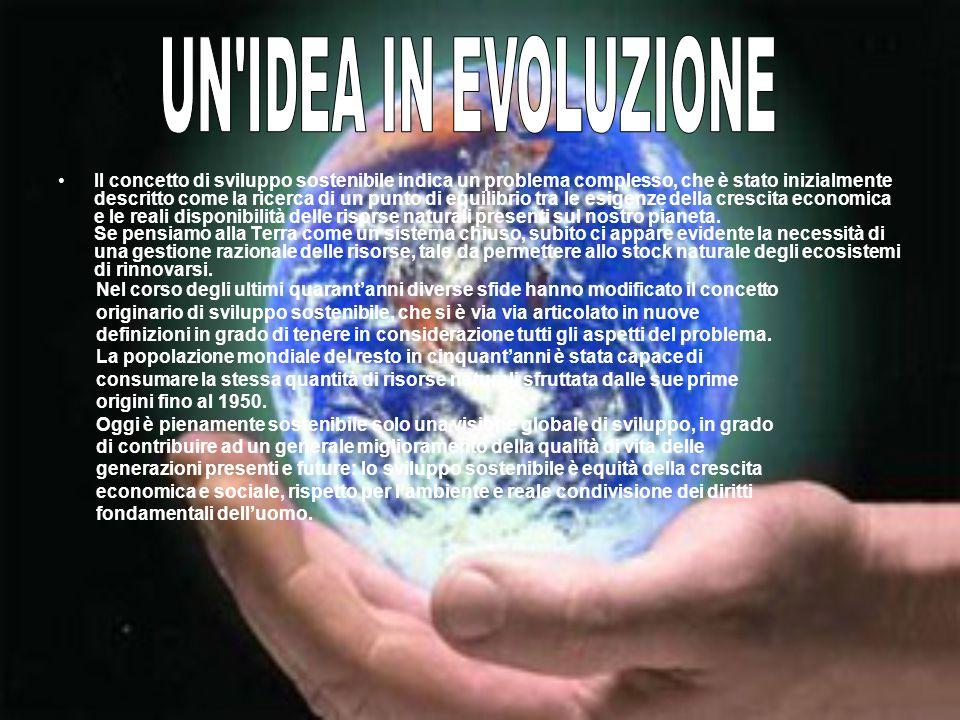 UN IDEA IN EVOLUZIONE