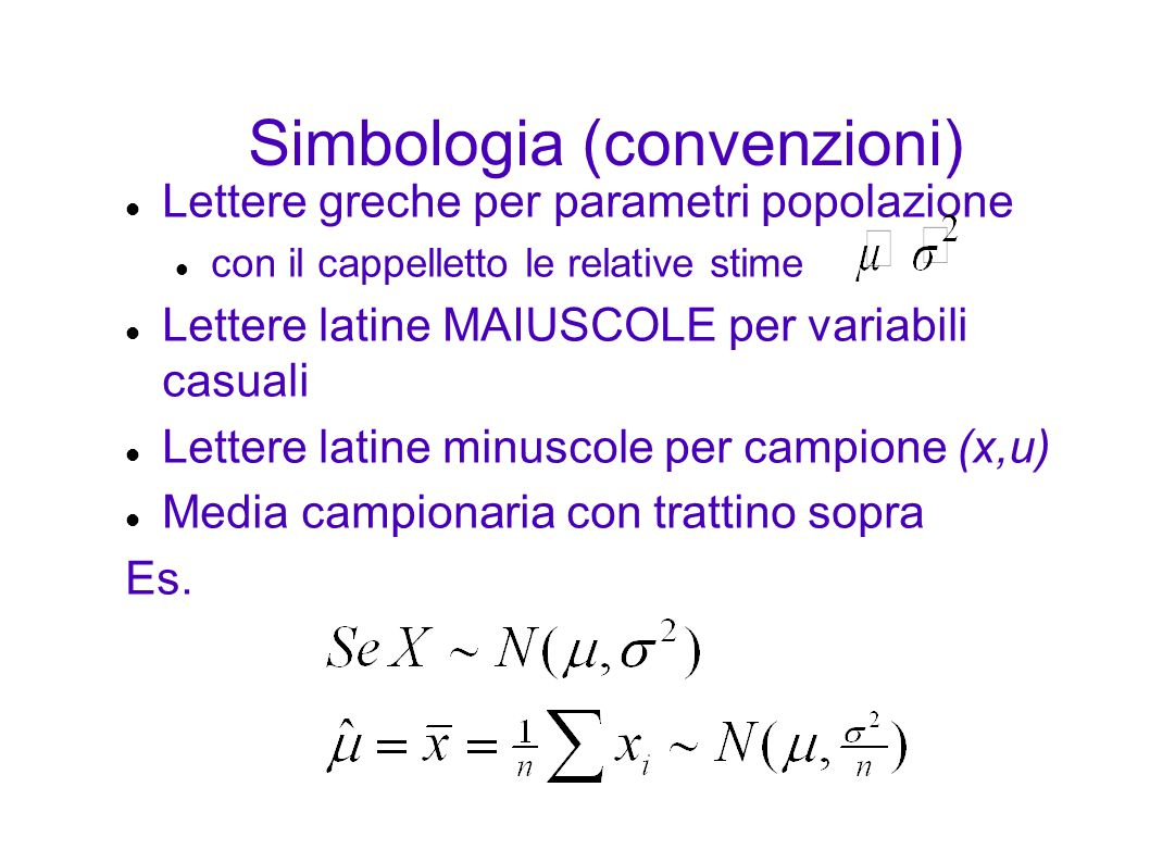 Simbologia (convenzioni)