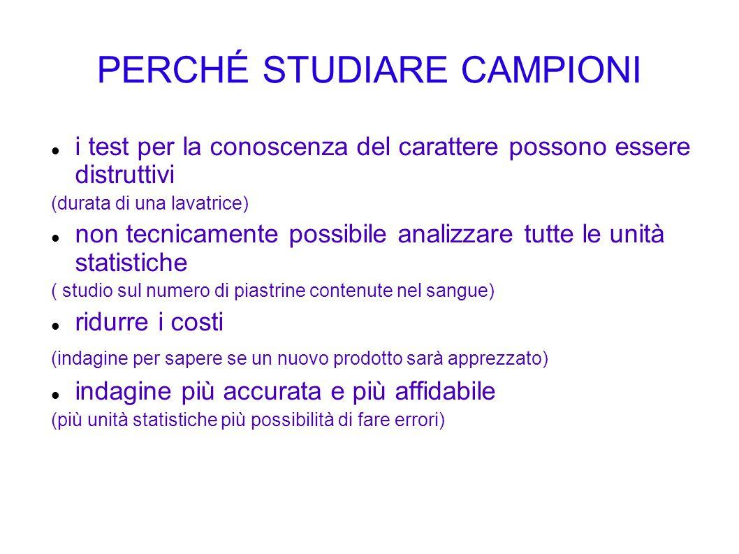 PERCHÉ STUDIARE CAMPIONI