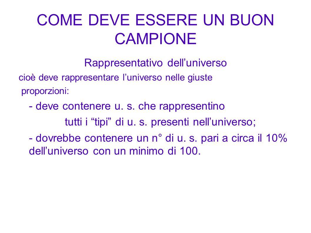 COME DEVE ESSERE UN BUON CAMPIONE