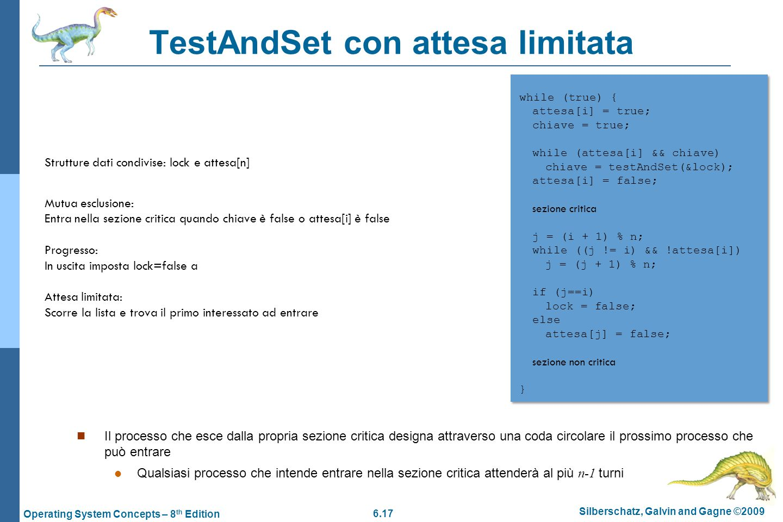TestAndSet con attesa limitata