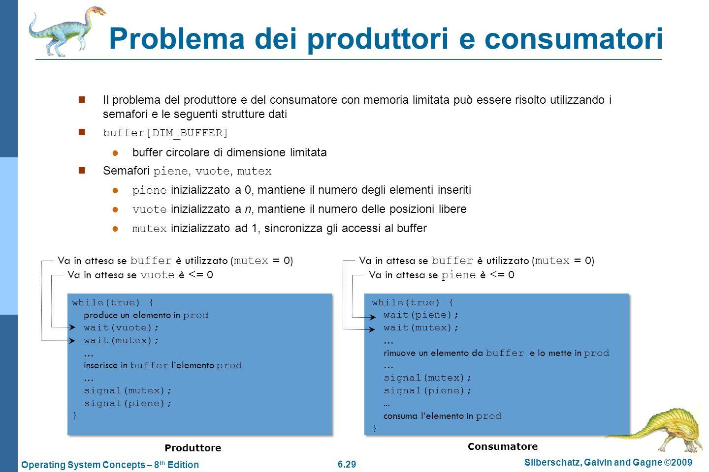 Problema dei produttori e consumatori