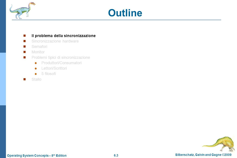Outline Il problema della sincronizzazione Sincronizzazione hardware