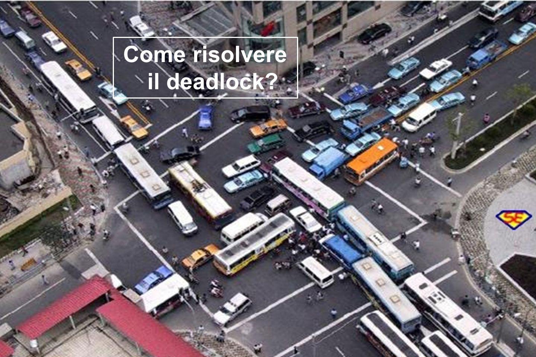Come risolvere il deadlock