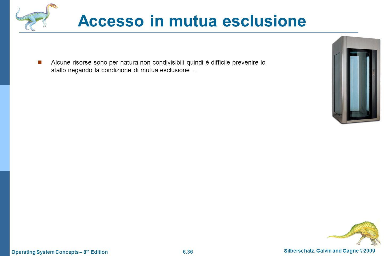 Accesso in mutua esclusione