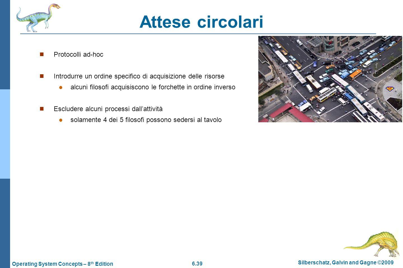 Attese circolari Protocolli ad-hoc