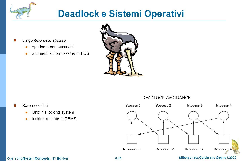 Deadlock e Sistemi Operativi
