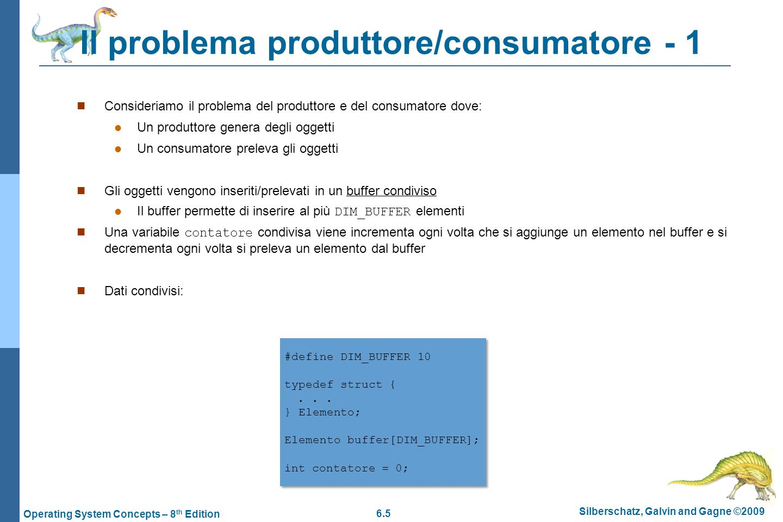 Il problema produttore/consumatore - 1