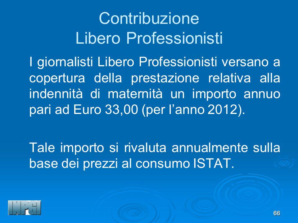 Contribuzione Libero Professionisti