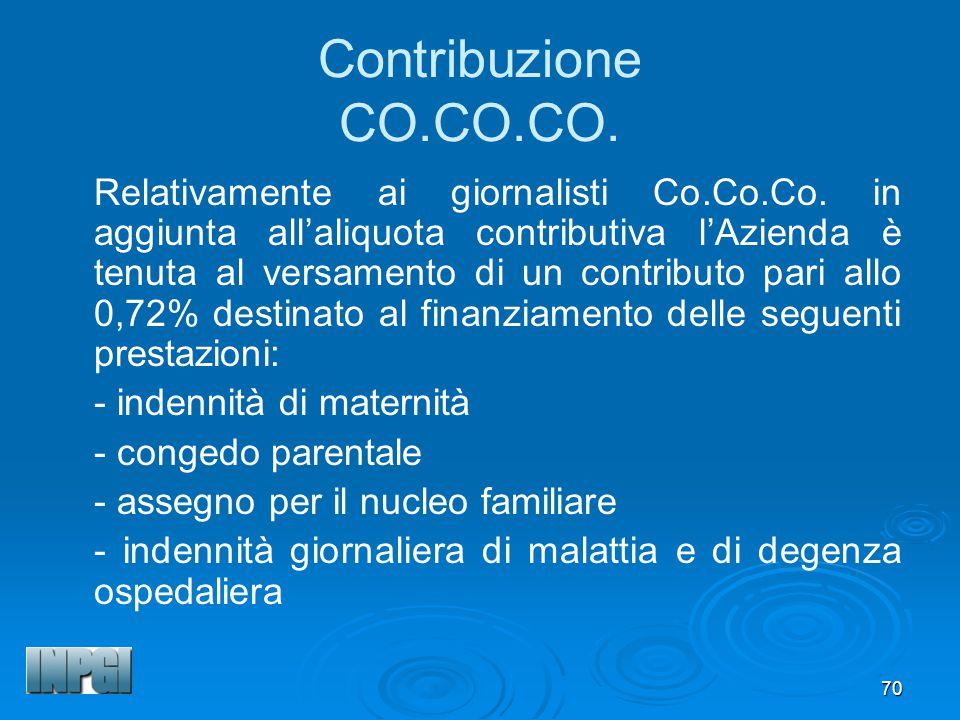 Contribuzione CO.CO.CO.