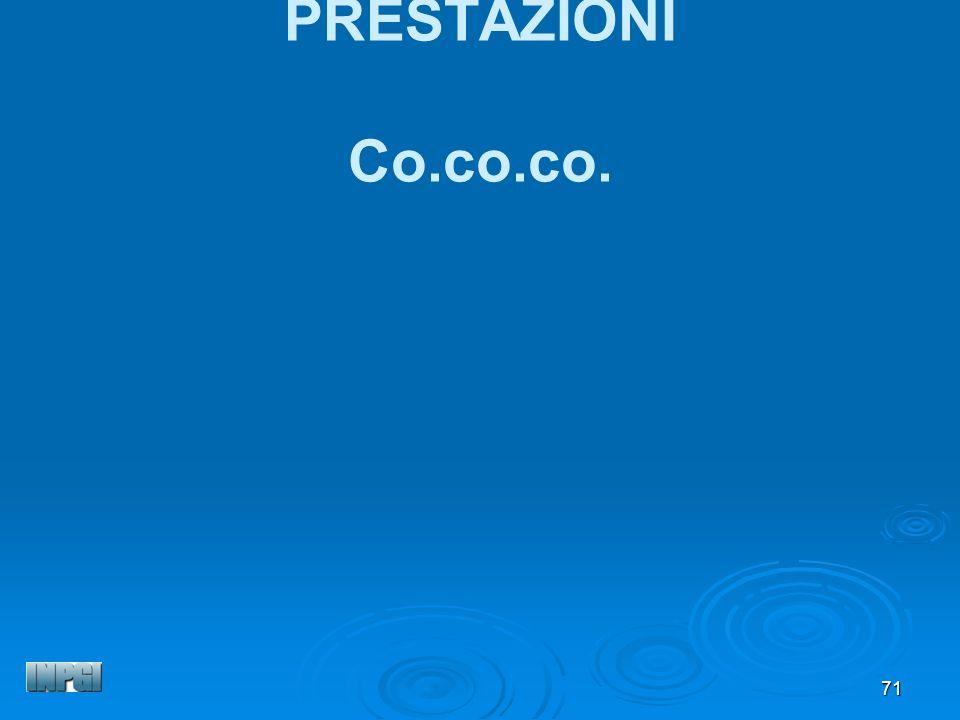 PRESTAZIONI Co.co.co.