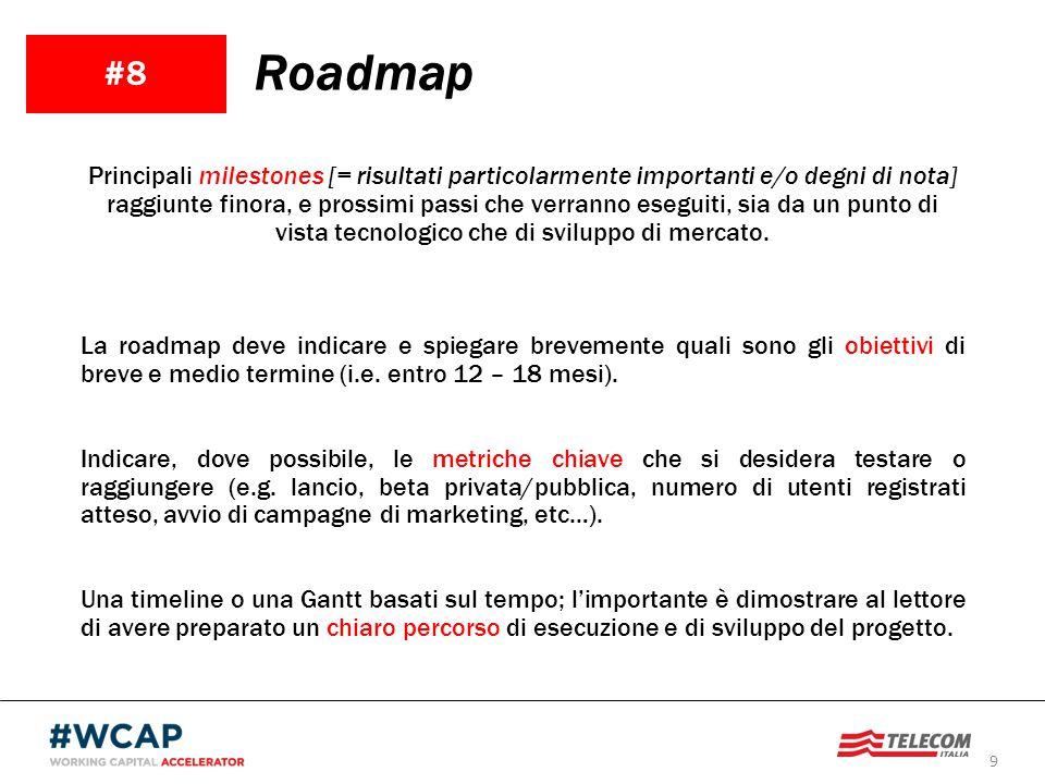 #8 Roadmap.
