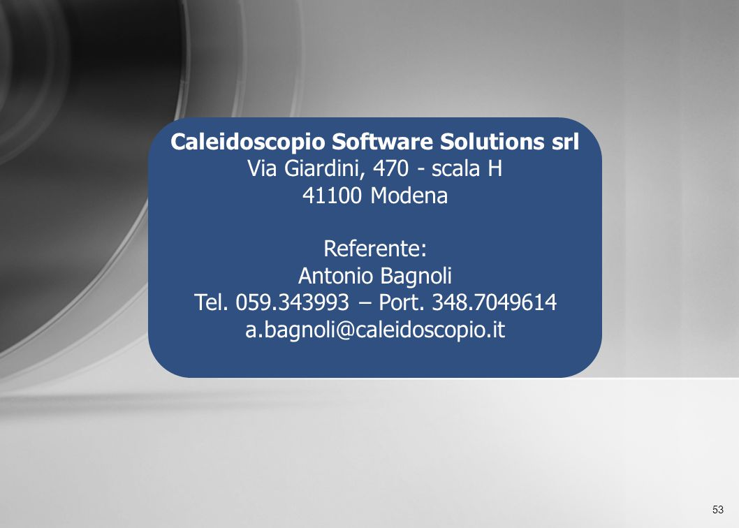 Caleidoscopio Software Solutions srl