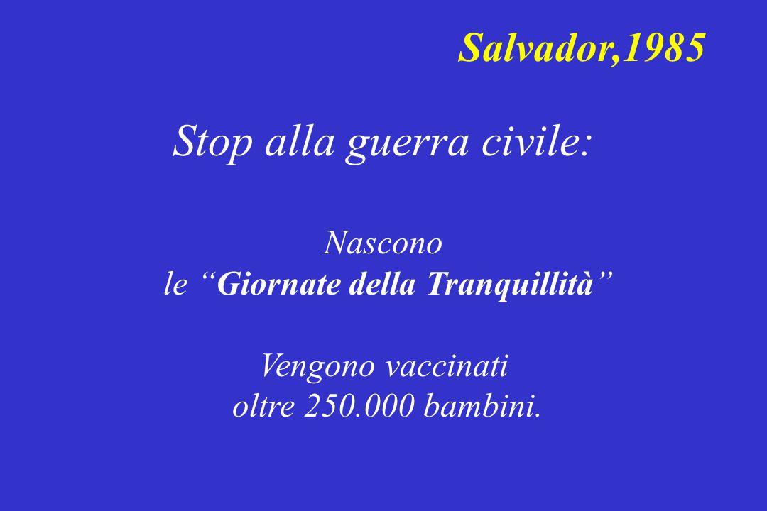 Stop alla guerra civile: