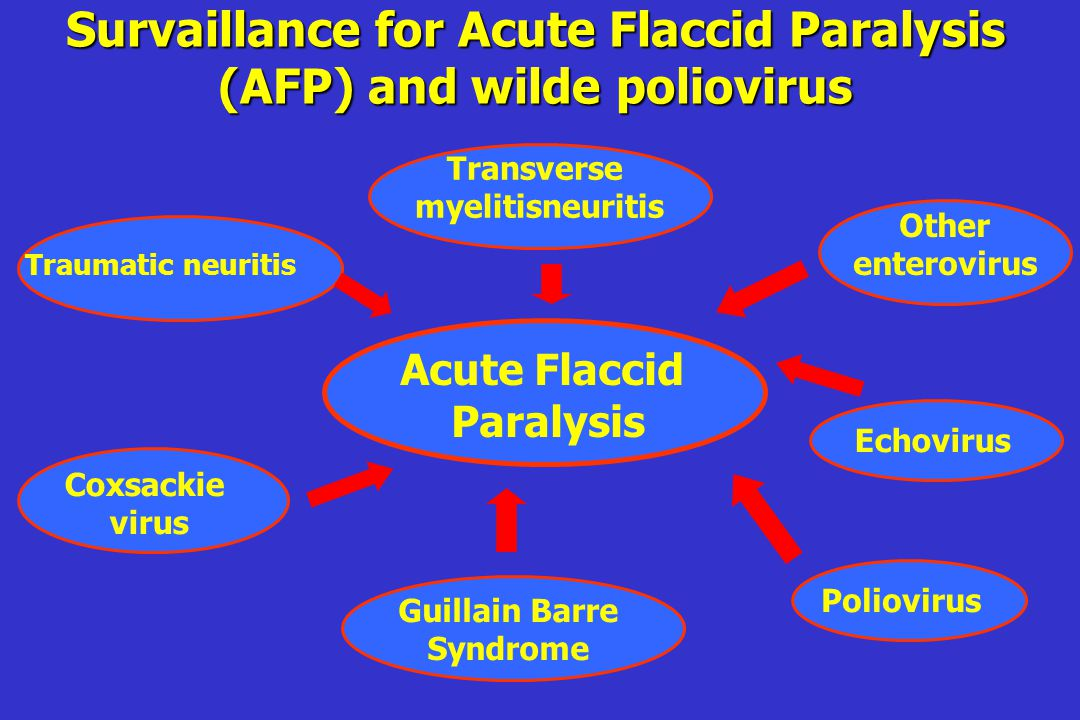 Survaillance for Acute Flaccid Paralysis (AFP) and wilde poliovirus