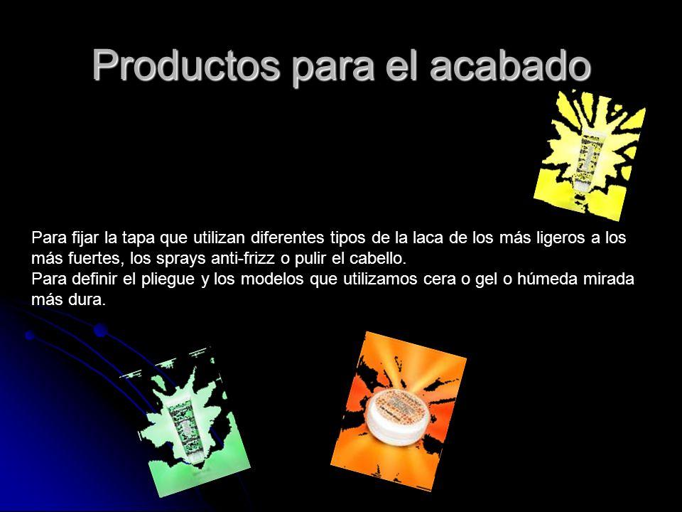 Productos para el acabado