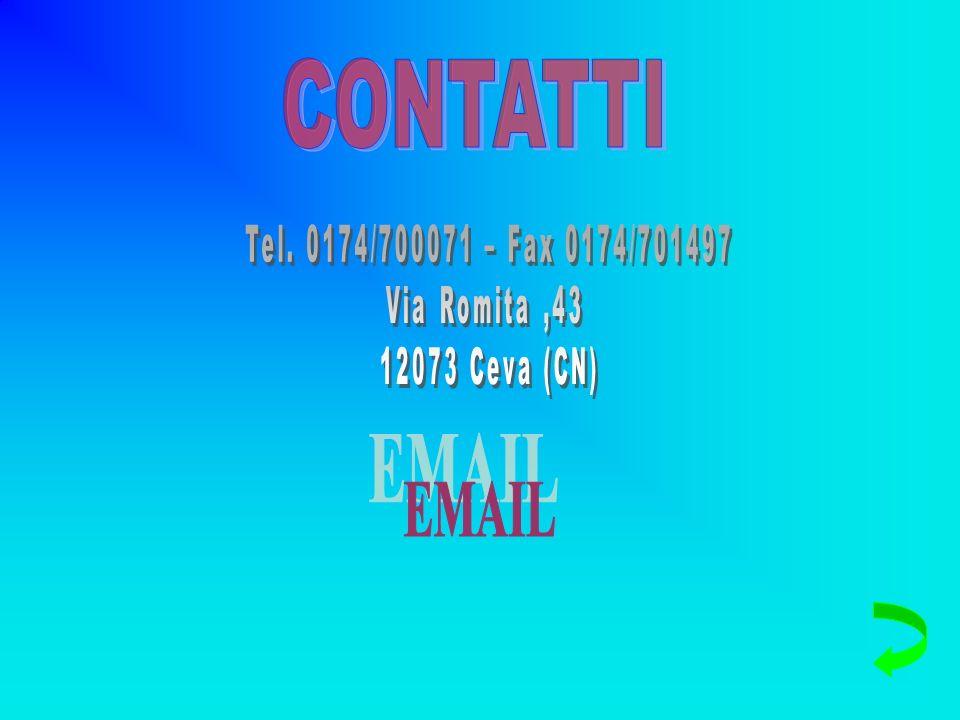CONTATTI EMAIL Tel. 0174/700071 – Fax 0174/701497 Via Romita ,43