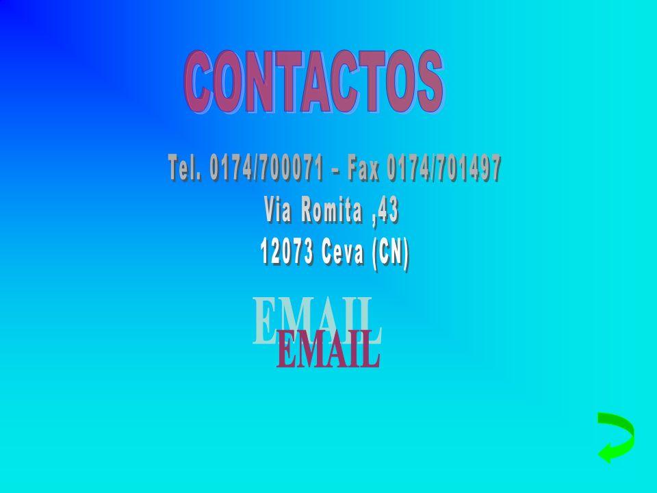 CONTACTOS EMAIL Tel. 0174/700071 – Fax 0174/701497 Via Romita ,43