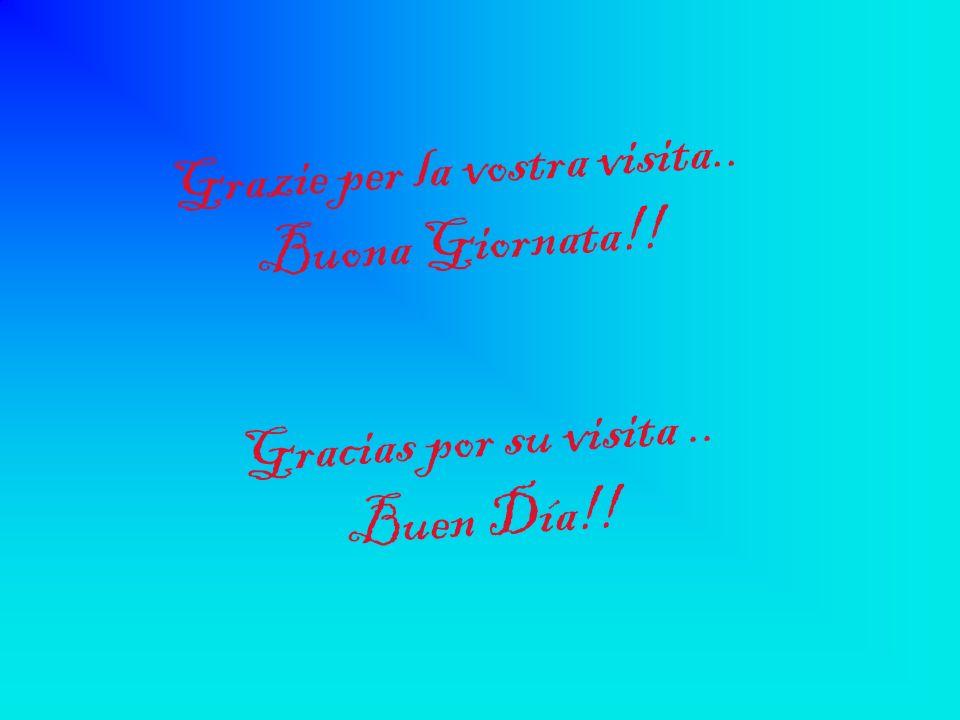 Grazie per la vostra visita.. Buona Giornata!!
