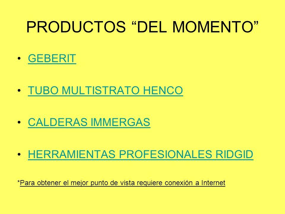 PRODUCTOS DEL MOMENTO
