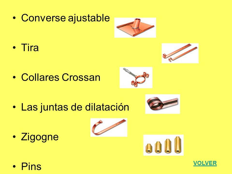 Las juntas de dilatación Zigogne Pins